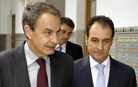 Zapatero y el marido de Susana